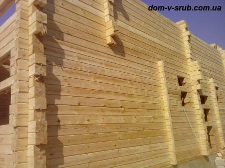 Log buildings under construction_109